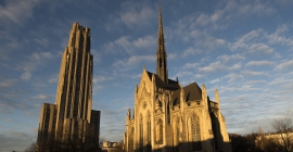 The Cathedral of Learning and Heinz Chapel